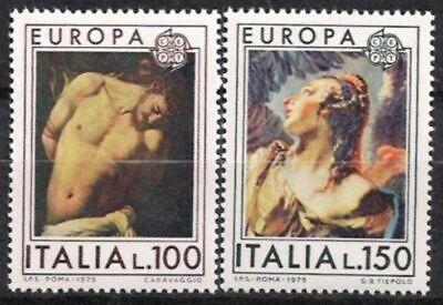 SchöN Italien Nr.1489/90 ** Europa, Cept 1975, Postfrisch Supplement Die Vitalenergie Und NäHren Yin