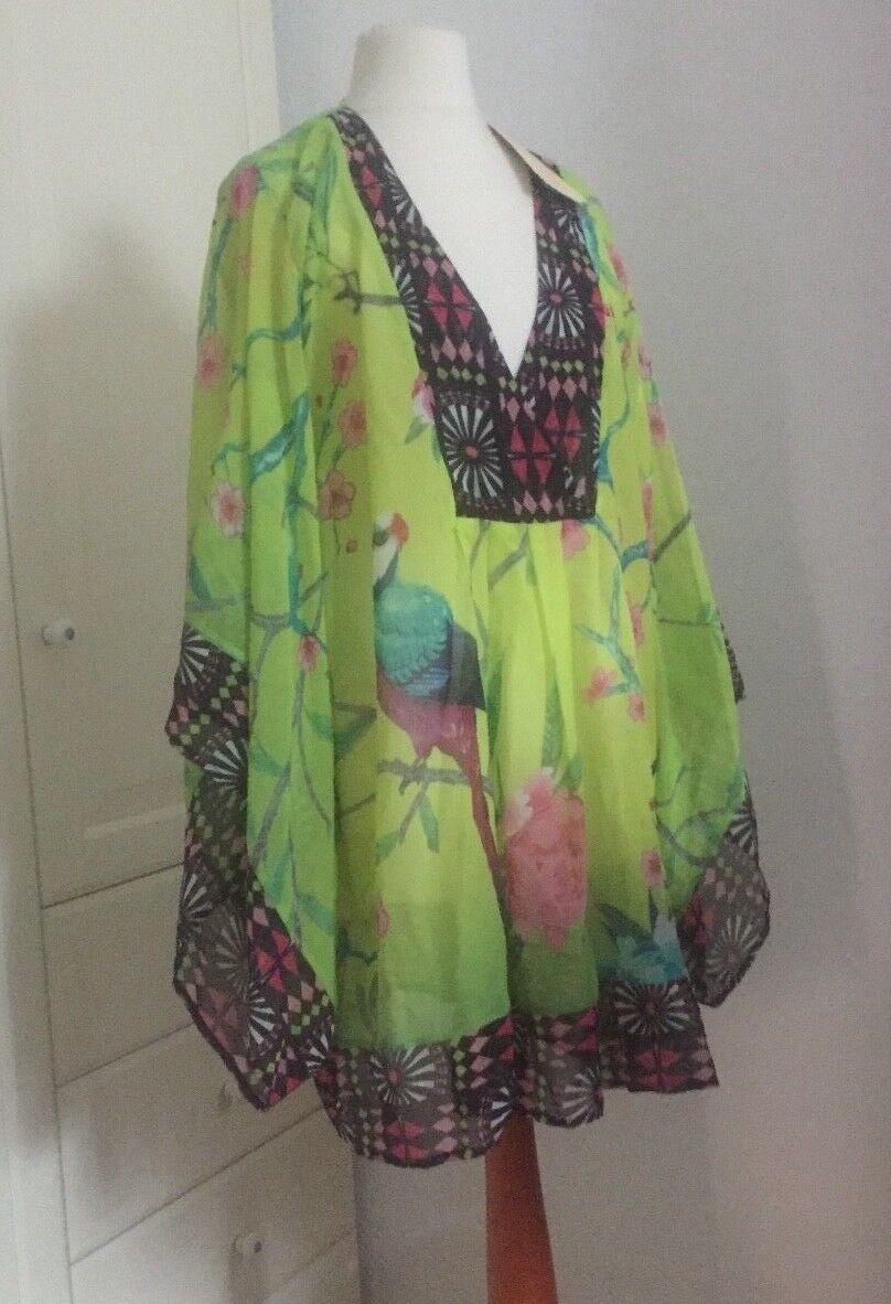 MATTHEW WILLIAMSON for H&M Bluse Tunika Seide blouse silk EUR 42 Größe US 12 UK16