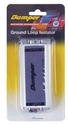B071A Bumper Ground Loop Isolator use in both car professional /& audio systems