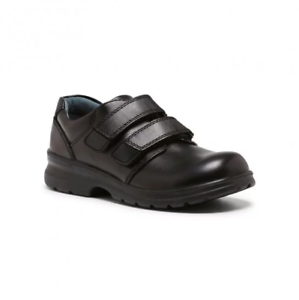 **CLEARANCE** Clarks Lochie Junior School Shoes (028)