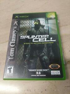Tom-Clancy-039-s-Splinter-Cell-Microsoft-XBOX-Ubisoft