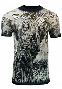Konflic-Gream-Reaper-Lightning-Moon-MMA-T-Shirt