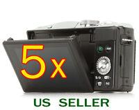 5x Clear Lcd Screen Protector Guard Cover Film For Panasonic Lumix Dmc-gf6