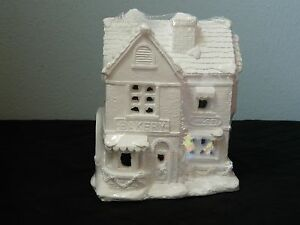Creative Crafts California Creations 97014 Bakery & Sweets Unpainted Village