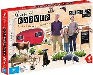 Gourmet-Farmer-Series-1-4-DVD-NEW-Region-4-Australia