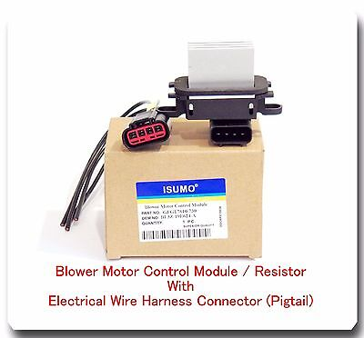 Blower Motor Control Module/Resistor w/Pigtail Connector Ford Lincoln Mercury