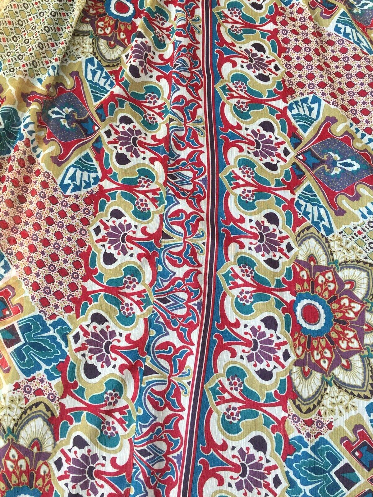 Women boho sleveless full lenght dress - image 8