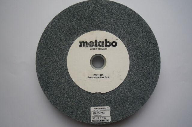 Metabo Schleifscheibe für Schleifbock 200x25x20mm aus Werkstattauflösung NEU
