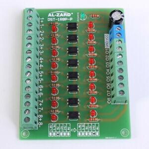 8-Channel-8bit-Photoelectric-Isolation-Module-Level-Voltage-Converter-PNP-20KHz