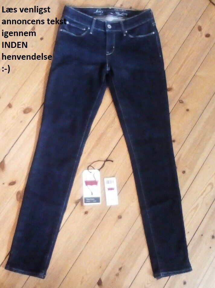 Jeans, Levis Demi Curve Skinny (udgået model), str. 26