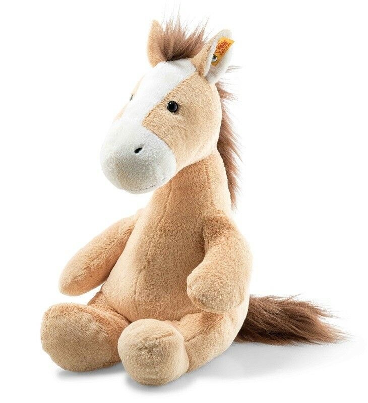 Steiff Morbido Coccolone Friends 'Hippity Cavallo' Lavabile Peluche - 38cm -
