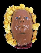 Life Size Severed HEAD DESSERT JELLO GELATIN MOLD Zombie Food Fester Horror Prop