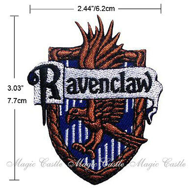 Magic Castle Harry Potter School Crest Iron On Embroidered Badge Patch Costumes