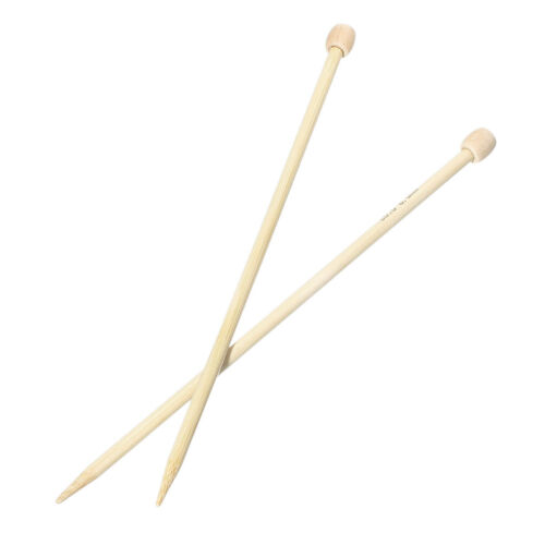-BB41 US Size 10//6.0mm 1 Pair 23cm Bamboo SP Knitting Needle
