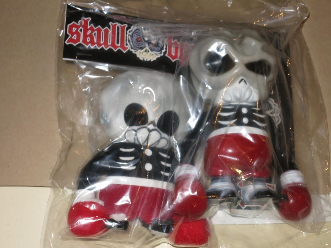 Secret Base Skull Brain vinyl & PLUSH Sofubi Japan Real Head Bemon Zollmen Kaiju