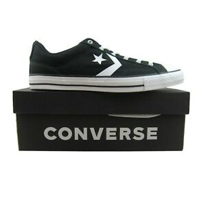 Converse-Star-Player-OX-Low-Black-White-Sneakers-161595C-NEW-Mens-Multi-Size