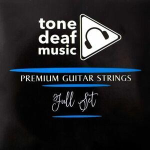 Guitare-classique-cordes-divers-gauge-nylon-plaque-argent-acoustique-e-A-D-G-B-E