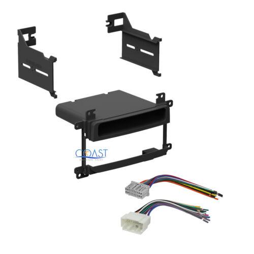 Single DIN Stereo Dash Kit Wire Harness 2003-2006 Suzuki Aerio Grand Vitara XL7