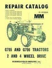Minneapolis Moline G705 G706 G 705 G 706 Parts Manual