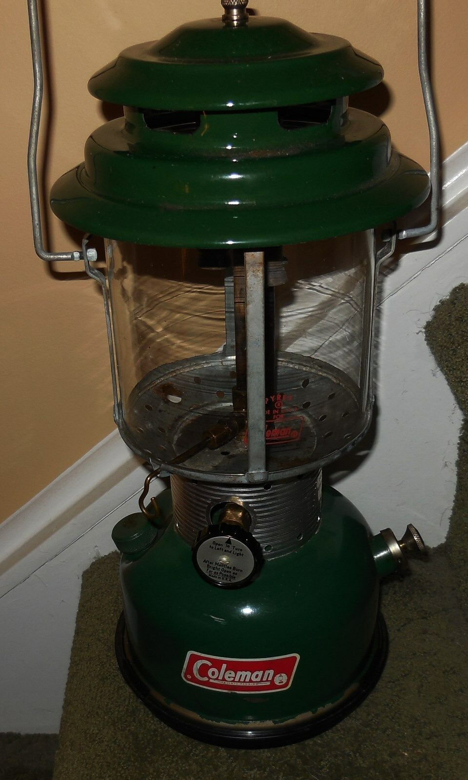 1968 COLEMAN DUAL MANTLE LANTERN [MODEL  220F]  will make you satisfied
