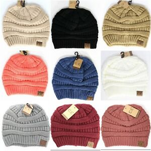Image is loading CC-Beanie-Classic-Solid-or-Confetti-Beanie-Hat- 5d0590b808a9