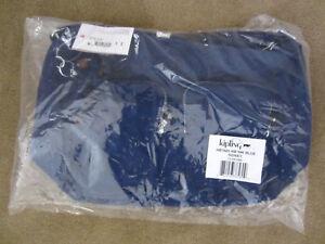 2a2b833849d Image is loading Kipling-HB7685-Sidney-Crossbody-Ink-Blue-Travel-Handbag-