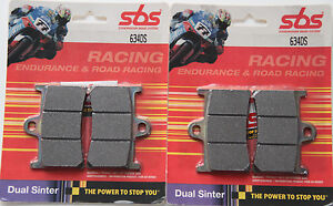 Yamaha R6 Front Brake Pads SBS Sintered 634HS 1999-2019