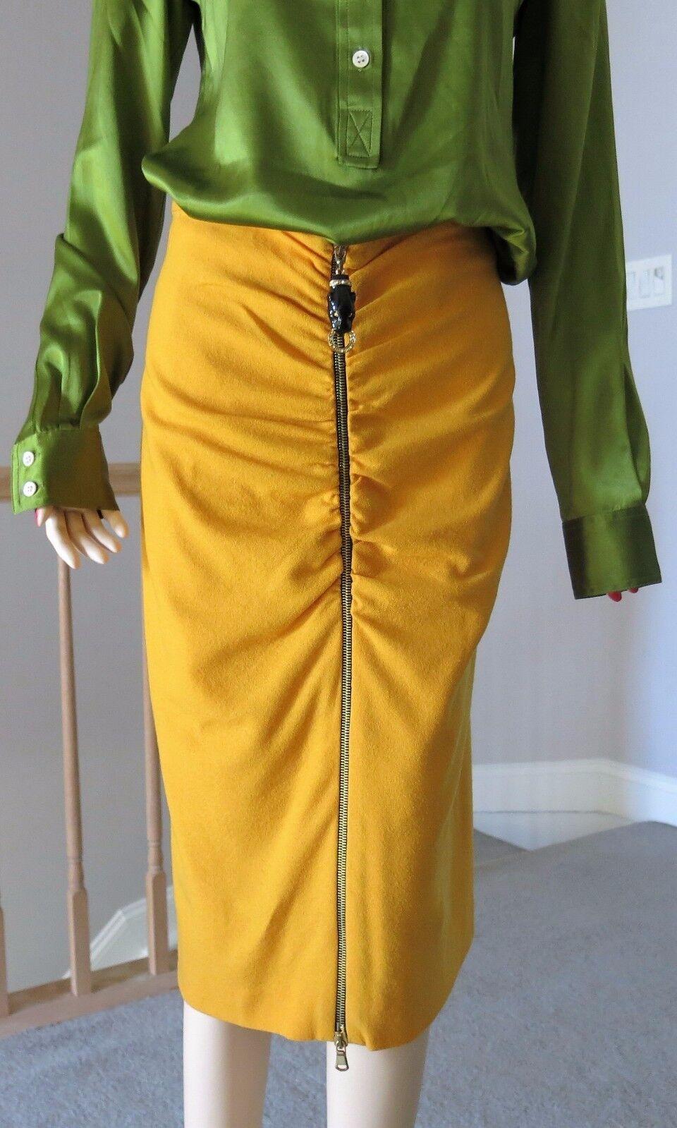 CLASS ROBERTO CAVALLI Knee length skirt Size 42 US 6