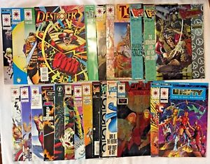 24 Early Valiant VF/NM All #'s 0 1 2 3: Unity Armorines Destroyer Visitor Ninjak