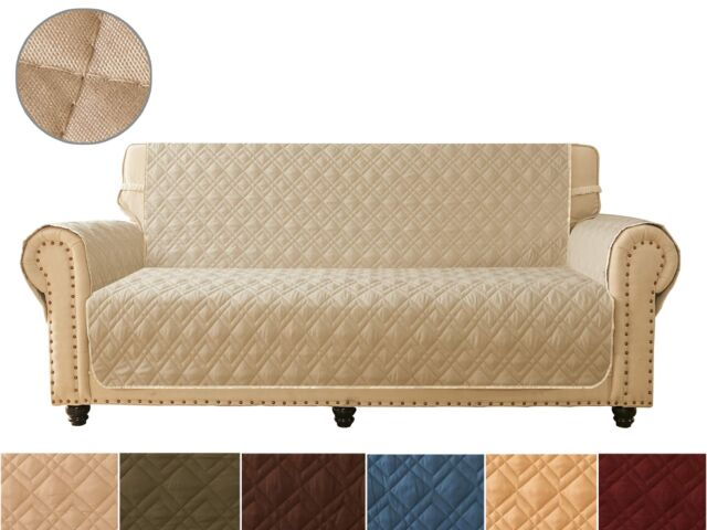 Sofa Cover Reversible Quilted