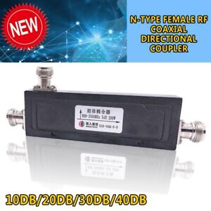 New-N-Type-Female-RF-Coaxial-Directional-Coupler-800-2500MHz-200W10dB-40dB