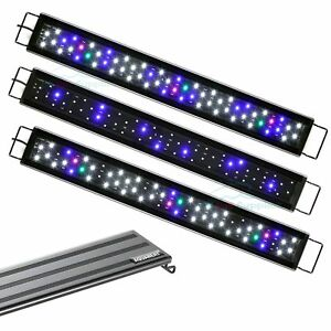 AQUANEAT-Dimmable-LED-Aquarium-Light-Full-Spectrum-3-Modes-for-24-034-to-33-034-Tank
