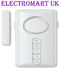 SHOP DOOR WINDOW ENTRY ALERT SENSOR VISITOR SECURITY CHIME ALARM 90DB