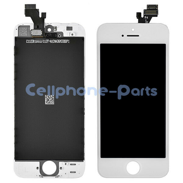 OEM iPhone 5 LCD Screen Display + Digitizer Touch Replacement Parts, White, USA