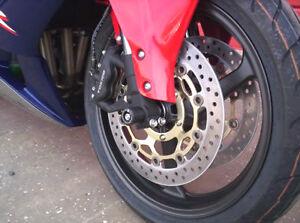 JMP Rear Sprocket 46T 530P Aluminium Blue Honda CBR 1000 RR Fireblade 2004