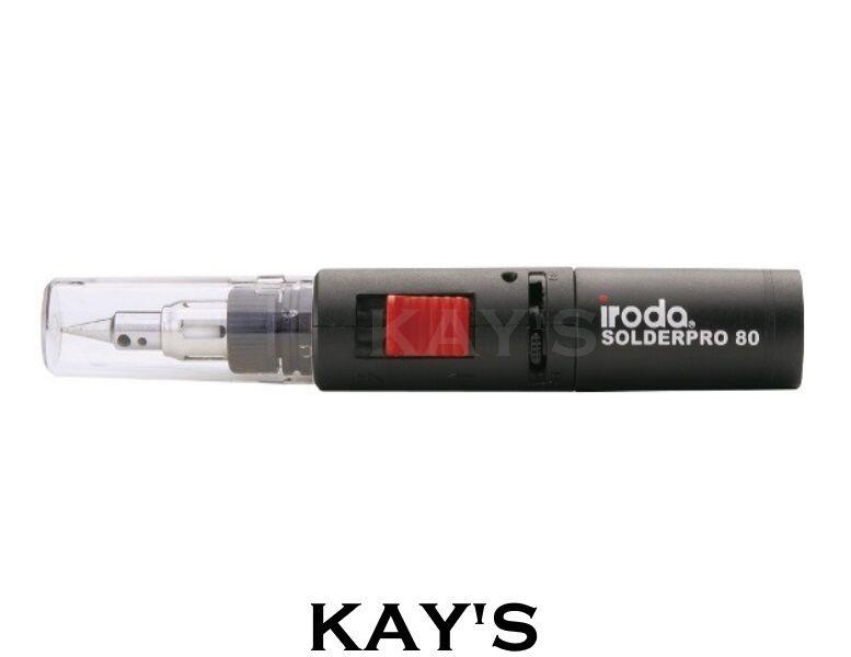 PRO IRODA SOLDER PRO 80 BUTANE GAS POWERED SOLDERING IRON 30-80w