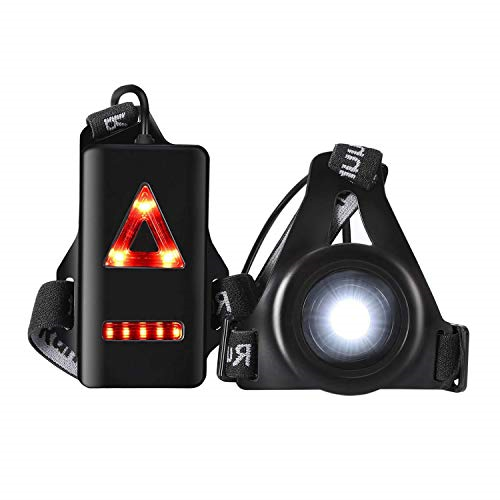 LED Chest Light USB Rechargeable Waterproof Body 3 Anecity Running Light Lamp