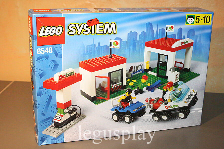 Lego System 6548 Octan Gas Station - New - Sealed