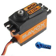 Savox SC-1258TG Super Speed Digital Servo  W/FREE ALUMINUM HORN BL
