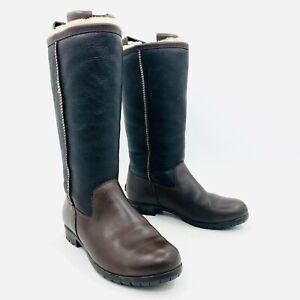 5 Australia Blackbrown Details Brooks Tall Boots Womens Size Leather About 7 Ugg 1001961 sCdxthQBr