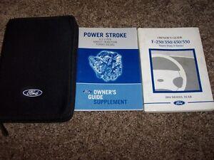 ford   super duty   diesel owner manual
