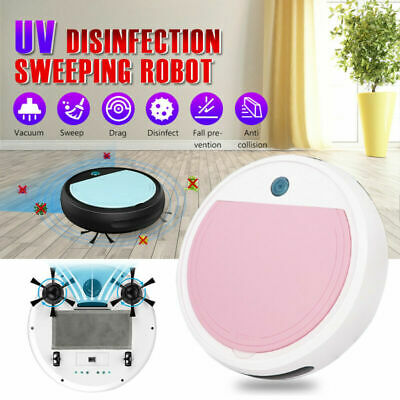 Auto Smart Sweeping Robot Vacuum Cleaner UV Sterilizer Strong Suction Sweeper 9