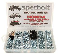 Honda TRX450 R 120 piece Bolt Kit  engine plastic frame restoration ATV 700XX
