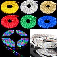 5m 300 Led Strip Light 3528 Smd/rgb Ribbon Tape Roll Waterproof Ip65 12v Adapter