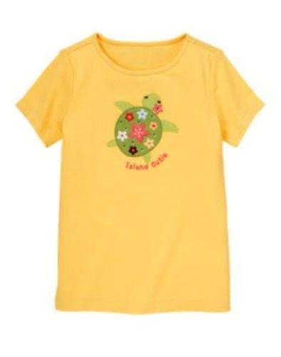NWT Gymboree Girls Aloha Sunshine Island Cutie Turtle Tee Size 3 4 5 /& 6