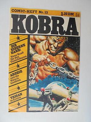Comic Heft Kobra  Nr.25 eingetütet /& geboardet Zustand 2 1976