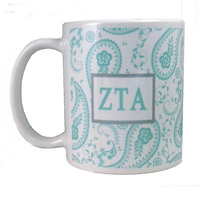 Zeta Tau Alpha, ΖΤΑ, Greek Letters & Graphic Design In Zeta Colors By McCartney