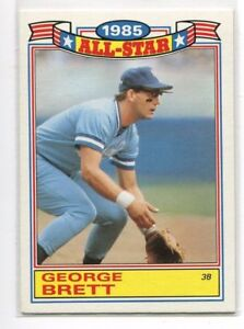 Details About 1986 Topps Glossy All Stars Baseball Cards You Pick Em