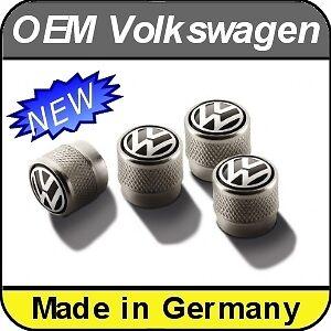 OEM VW Volkswagen Valve caps up Lupo Polo Golf Jetta Scirocco Passat R-Line