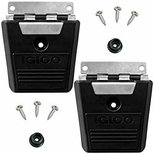 Igloo Pack Of 2 Cooler Hybrid Stainless//Plastic Latch Post /& Screws